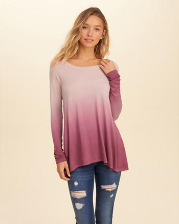 Washed Long-Sleeve T-Shirt