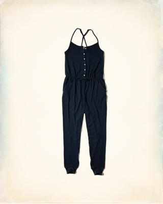 Gilly Hicks Cozy Knit Sleep Jumpsuit