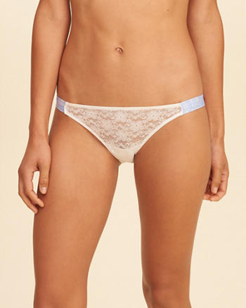 Gilly Hicks Lace Tanga Bikini