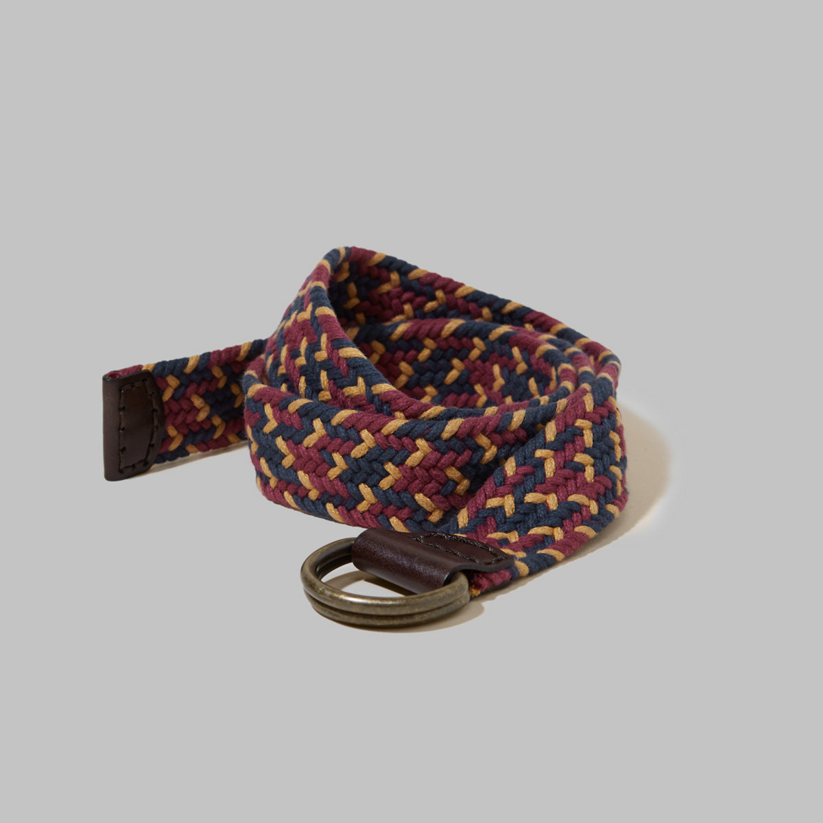 Patterned Fabric Belt
