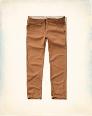 Slim Straight Chinos