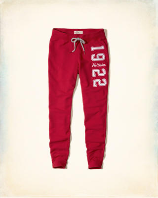 Hollister Graphic Fleece Leggings