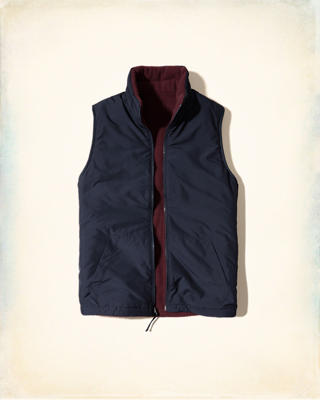 Reversible Thermal Fleece Vest