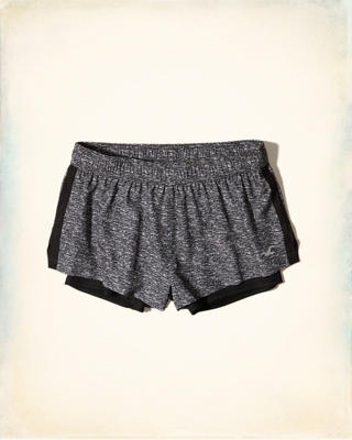 Hollister Cali Sport Nylon Running Shorts
