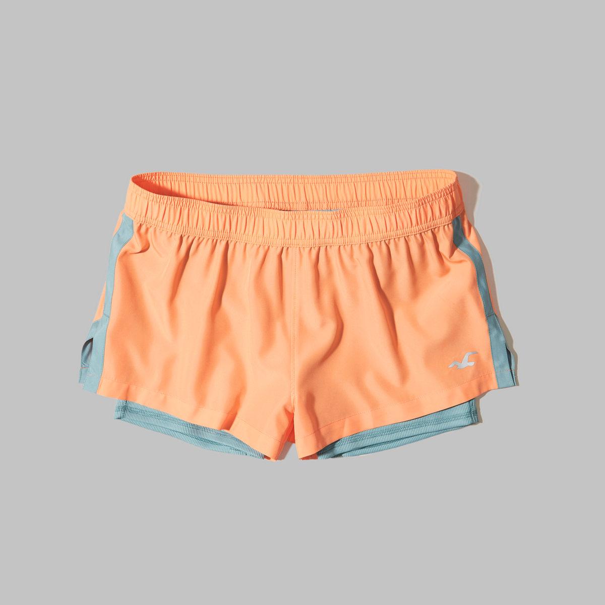 Hollister Cali Sport Nylon Running Shorts