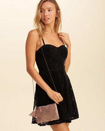 Metallic Convertible Crossbody