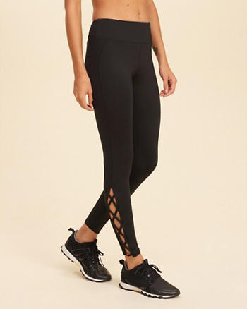 Hollister Cali Sport Lace-Up Legging