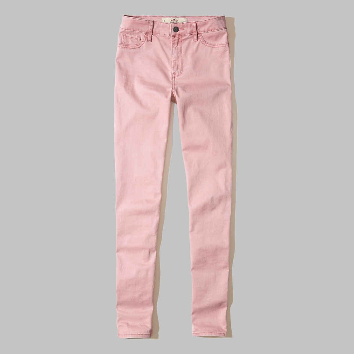 Hollister High-Rise Super Skinny Twill Pants