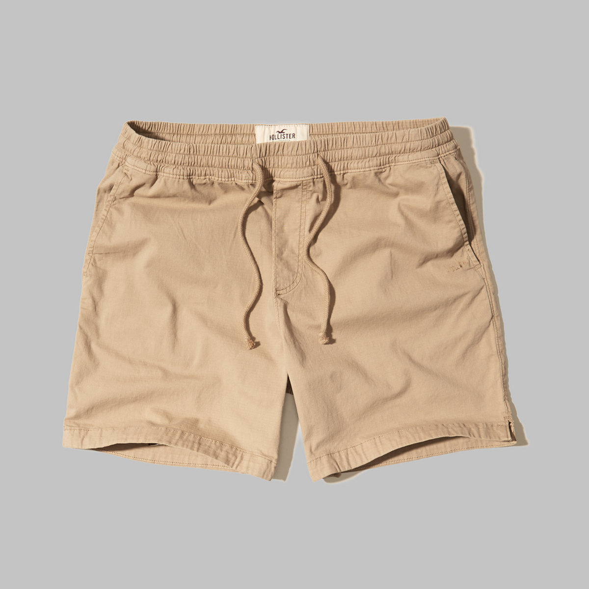Hollister Beach Prep Fit Pull-On Twill Shorts