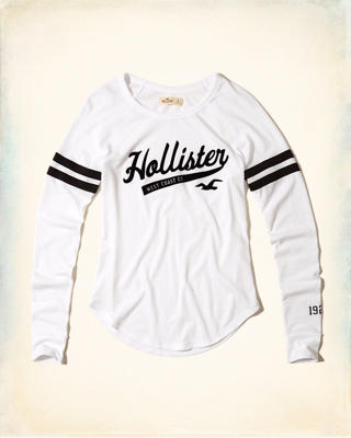 Slim Raglan Graphic Tee