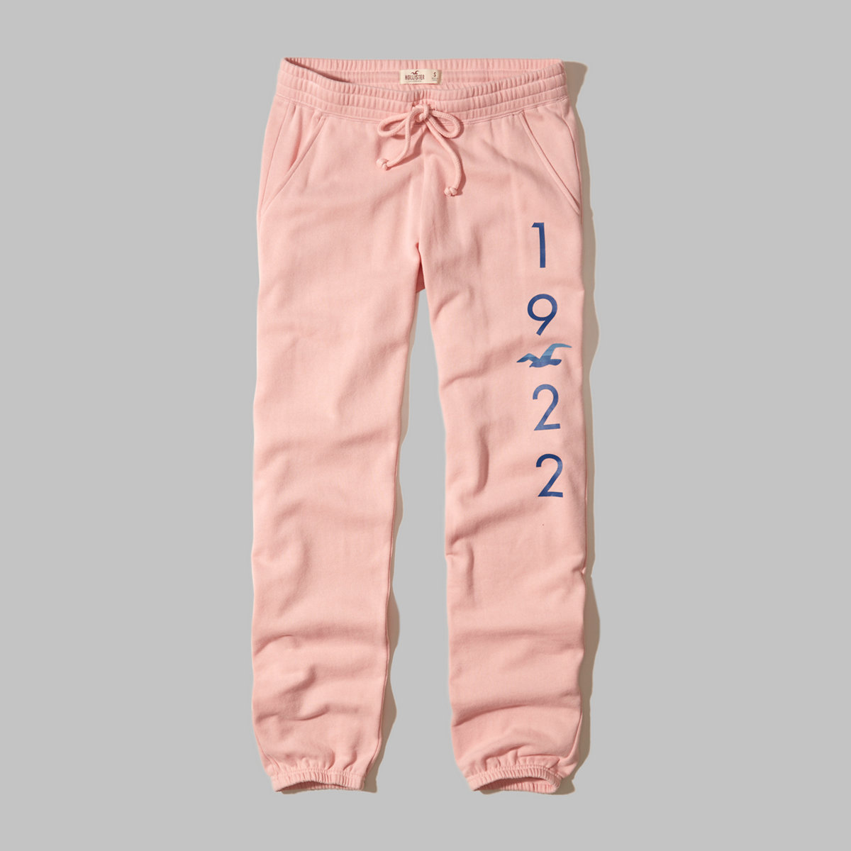 Hollister Logo Graphic Banded Sweatpants