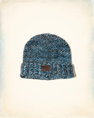 Patterned Knit Beanie