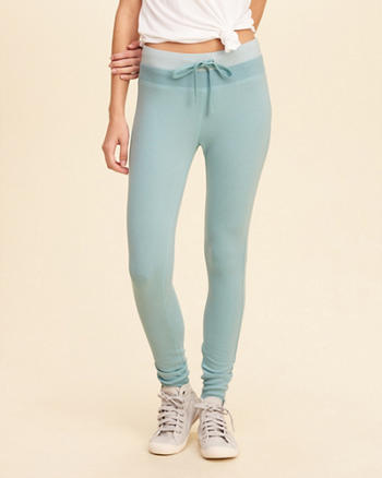 Hollister Cali Sport Colorblock Fleece Legging
