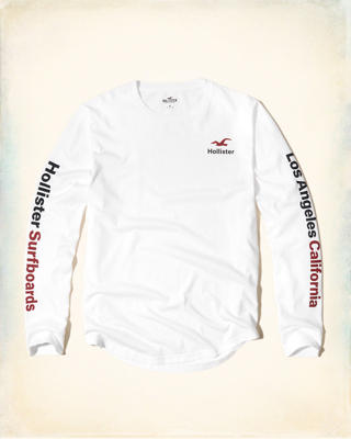 Long-Sleeve Logo Graphic Tee