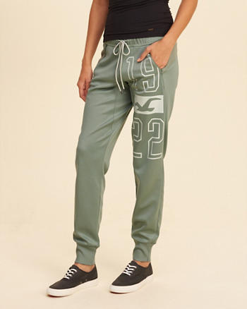 Hollister Cali Sport Graphic Joggers