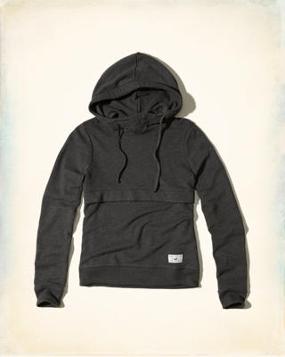 Hollister Cali Sport Snap Front Hoodie