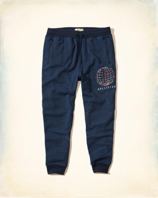 Graphic Fleece Jogger Pants