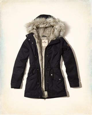 Faux Fur Lined Parka