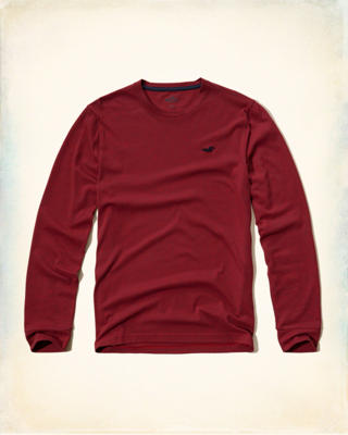 Long-Sleeve Crew T-Shirt