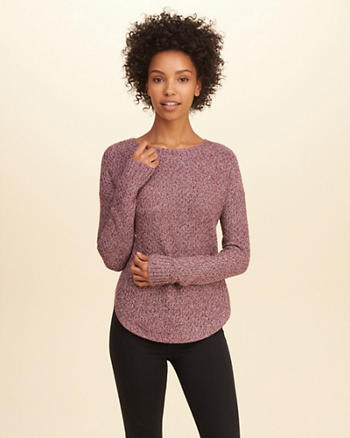 Crew Tunic Sweater