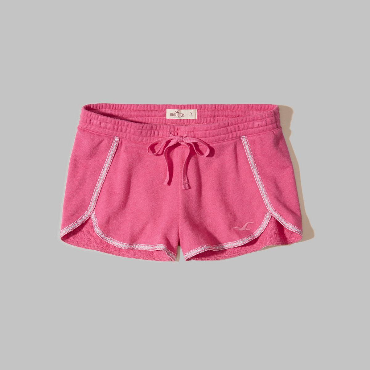 Knit Petal Shorts