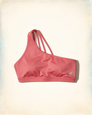 Hollister Cali Sport One-Shoulder Sports Bra