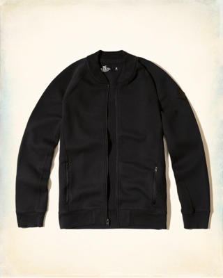 Neoprene Bomber Jacket