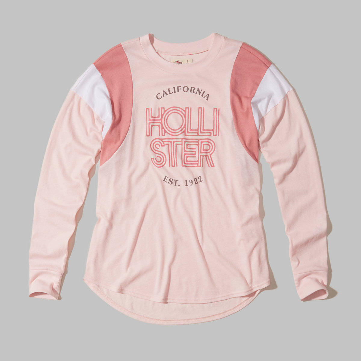 Hollister Cali Sport Colorblock Graphic Tee