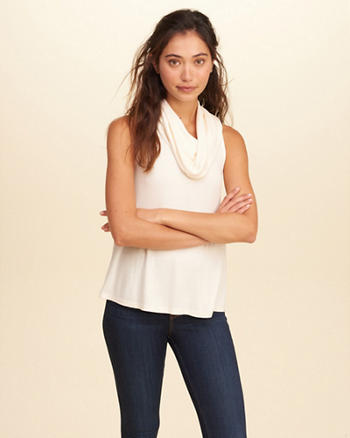 Must-Have Cowl Neck Tank