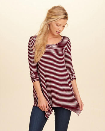 Long-Sleeve Jersey Tunic