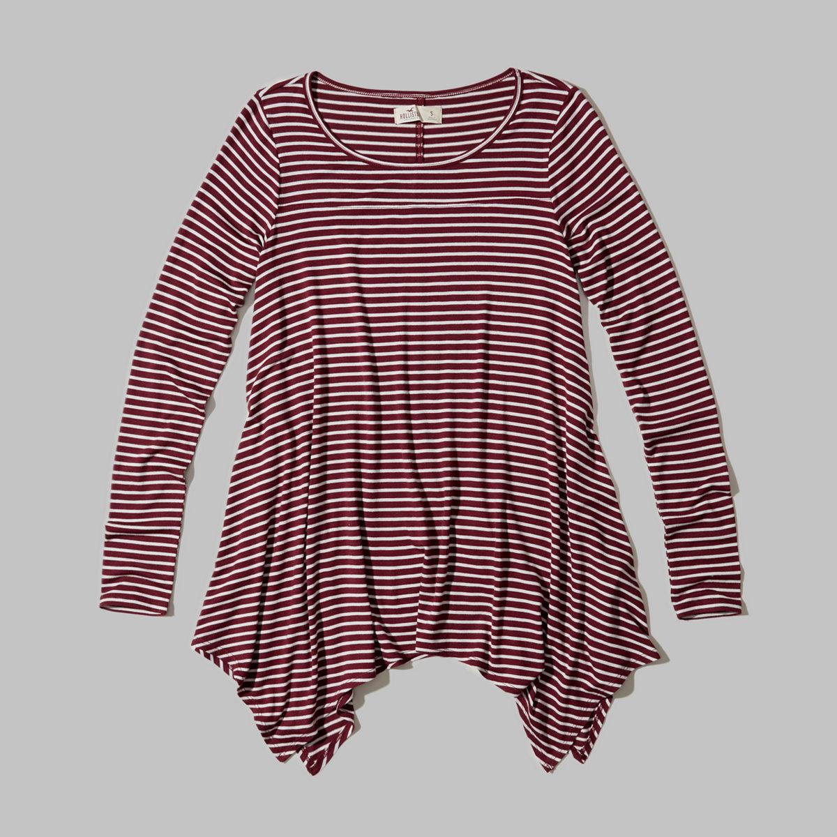 Long-Sleeve Jersey Tunic