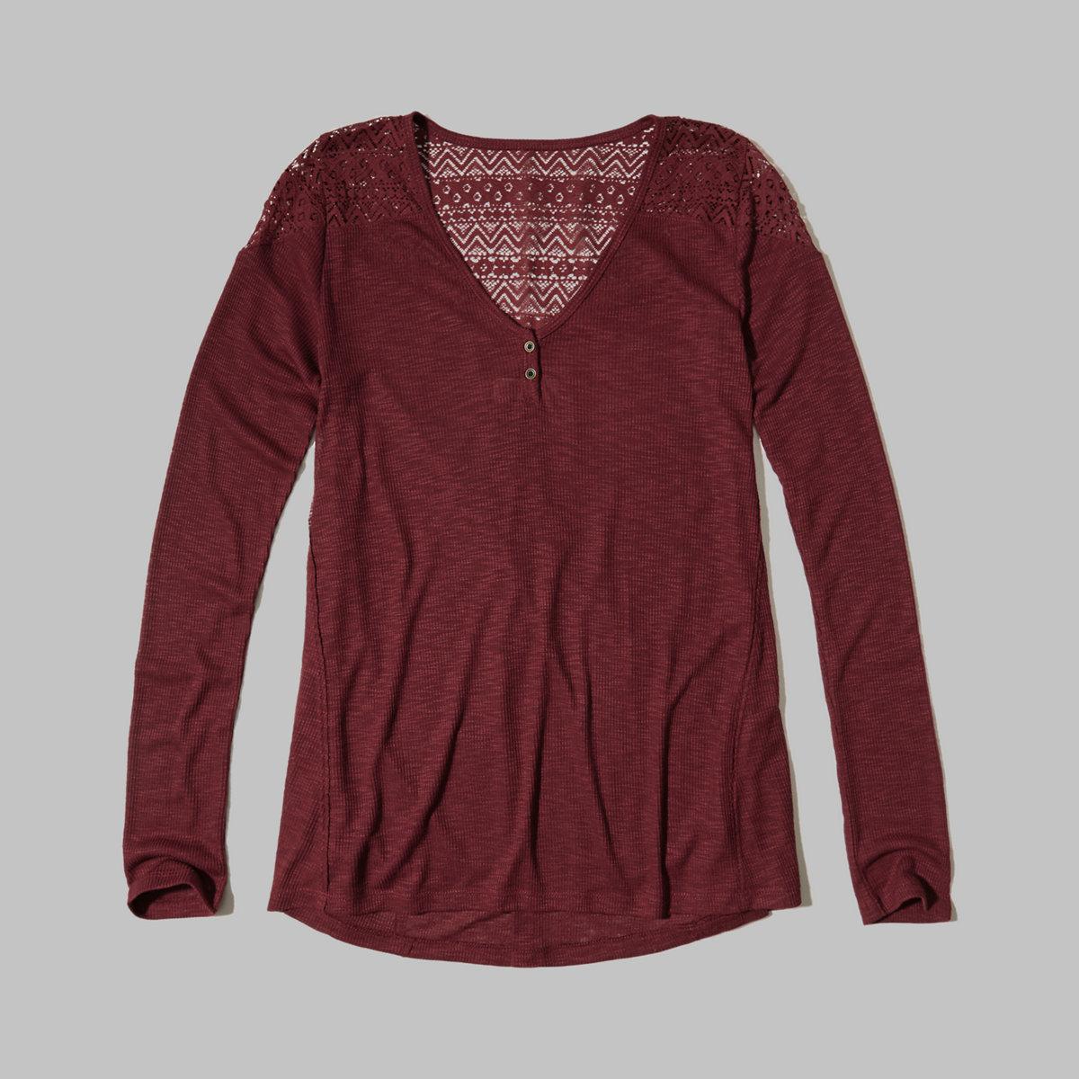 Lace Shoulder Tunic