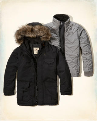 3-In-1 Nylon Parka