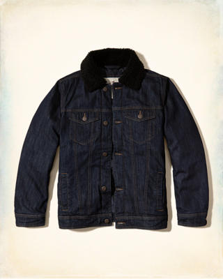 Down Denim Jacket