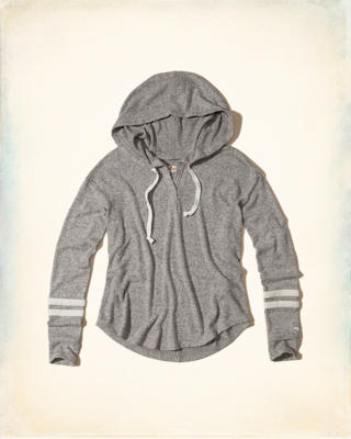 Cozy Textured Fleece Hoodie