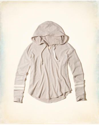 hol Textured Fleece Hoodie