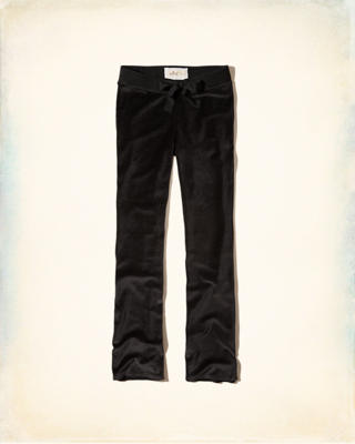 Velour Flare Sweatpants