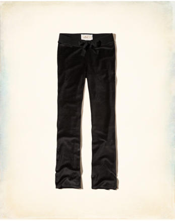 hol Velour Flare Sweatpants