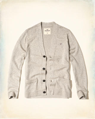 Button-Front Icon Cardigan