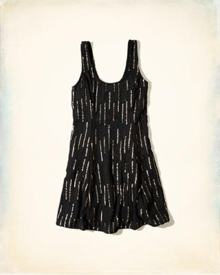 Hollister + Sydney Sierota Embellished Tank Dress