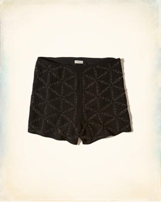 Hollister + Sydney Sierota High-Rise Embellished Shorts