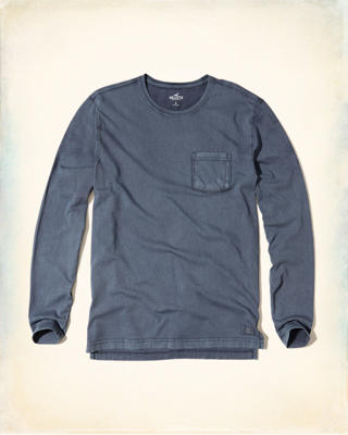 Washed Jersey Pocket T-Shirt