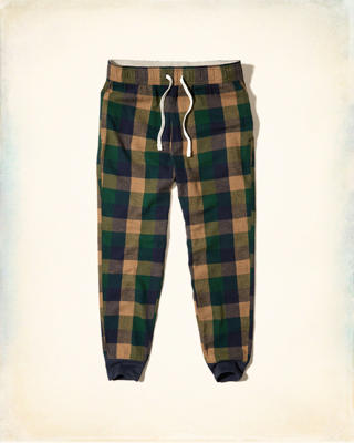 Flannel Sleep Jogger Pants