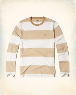 Stripe Crew T-Shirt