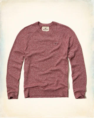 Textured Crew Icon Sweater