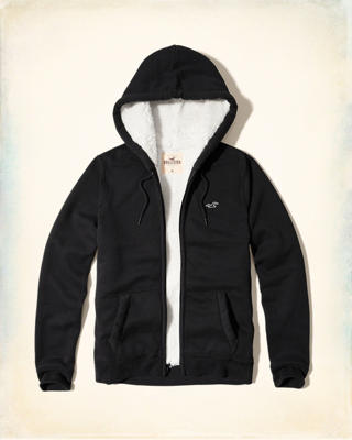 Iconic Sherpa Lined Hoodie
