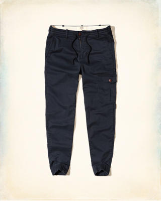Hollister Taper Military Jogger Pants
