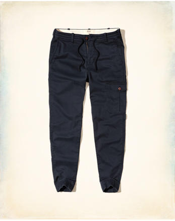 hol Hollister Taper Military Jogger Pants
