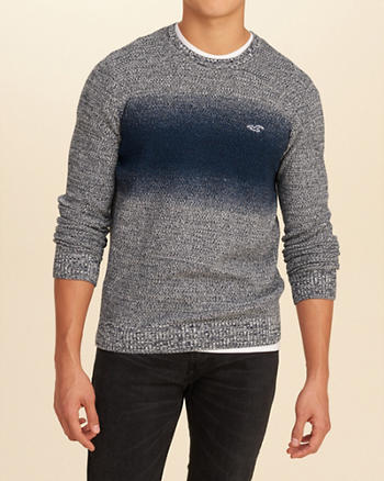 Wash Effects Crew Sweater