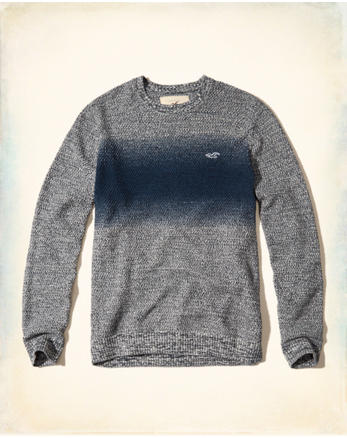 hol Wash Effects Crewneck Sweater